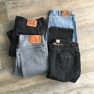 Levi's and Vintage J Crew Jeans - Wholesale
